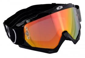 assault pro goggle crossbril glossy black