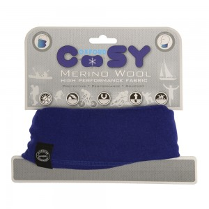 cosy royal blue halsdoek kol