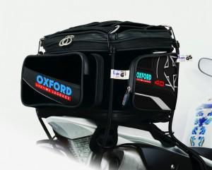X40 tailpack zadeltas