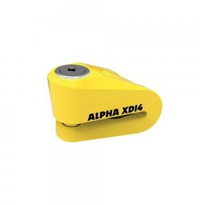 alpha xd14 schijfremslot