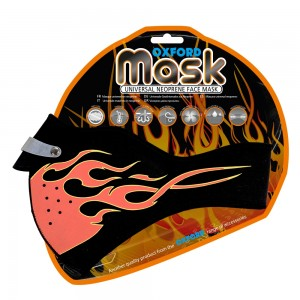 oxford mask flames
