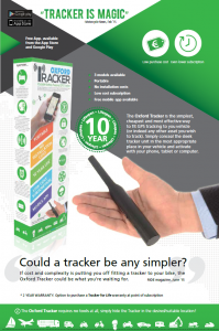 oxford tracker flyer