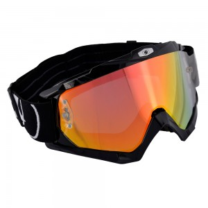 assault pro goggle crossbril glossy black