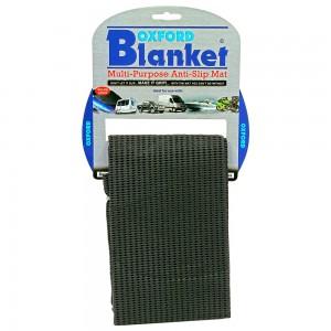 blanket zwart rubber matje