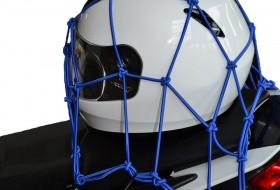 cargo net elastisch bagagenet blauw