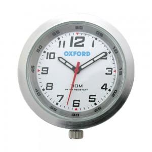 clock analoge klok zilver
