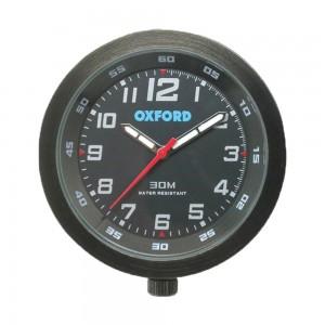 clock analoge klok zwart