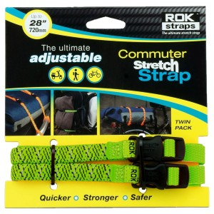 commuter straps LD 12mm groen reflecterend