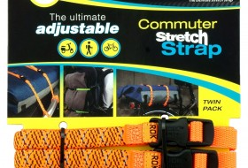 commuter straps LD 12mm oranje reflecterend