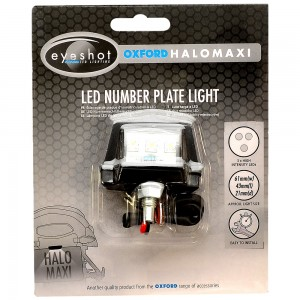 eyeshot halo maxi nummerplaat verlichting