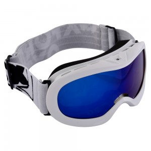 fury junior goggles glossy white