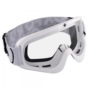 fury mx goggles glossy white