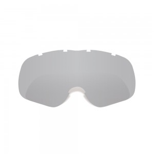 fury mx goggles lens silvertint