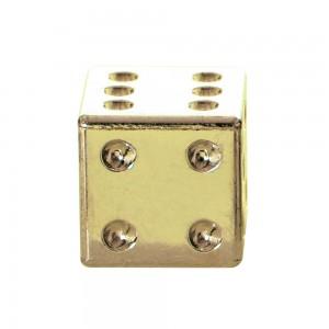 valve caps ventieldopjes dobbelsteen goud