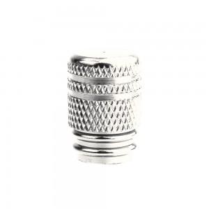 valve caps ventieldopjes gripper zilver