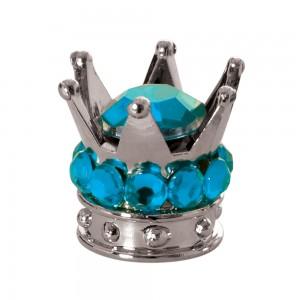 valce caps ventieldopjes kroon blauw