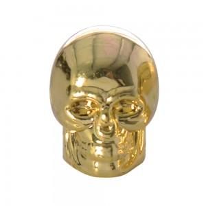 valce caps ventieldopjes skull goud