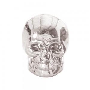 valce caps ventieldopjes skull zilver