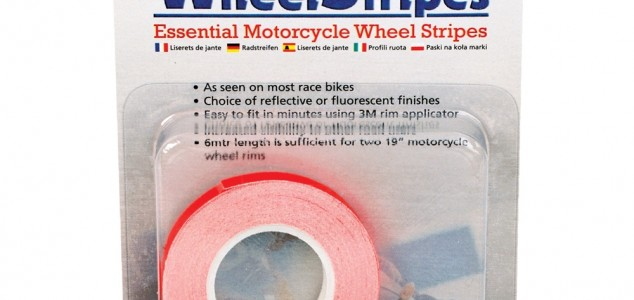 wheel stripes wielstriping oranje