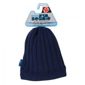 aqua beanie muts blauw 2
