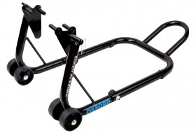big black bike paddock stand