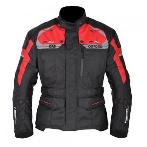 brooklyn motorjas rood zwart 2