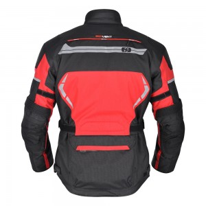 brooklyn motorjas rood zwart 3