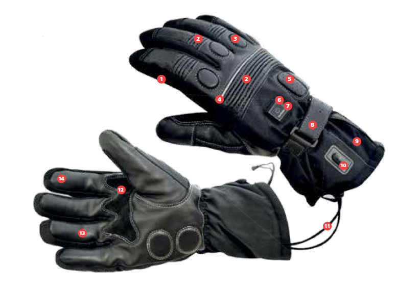 heated gloves legenda
