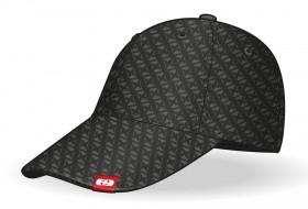 oxford cap pet logo zwart grijs