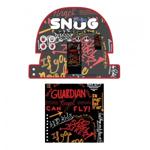 snug graffiti multi halsdoek