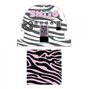 snug pink zebra