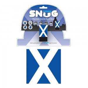 snug scottish flag halsdoek