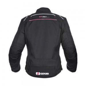valencia motorjas vrouw zwart-roze 3