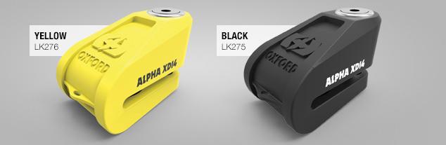 alpha xd14 geel of zwart